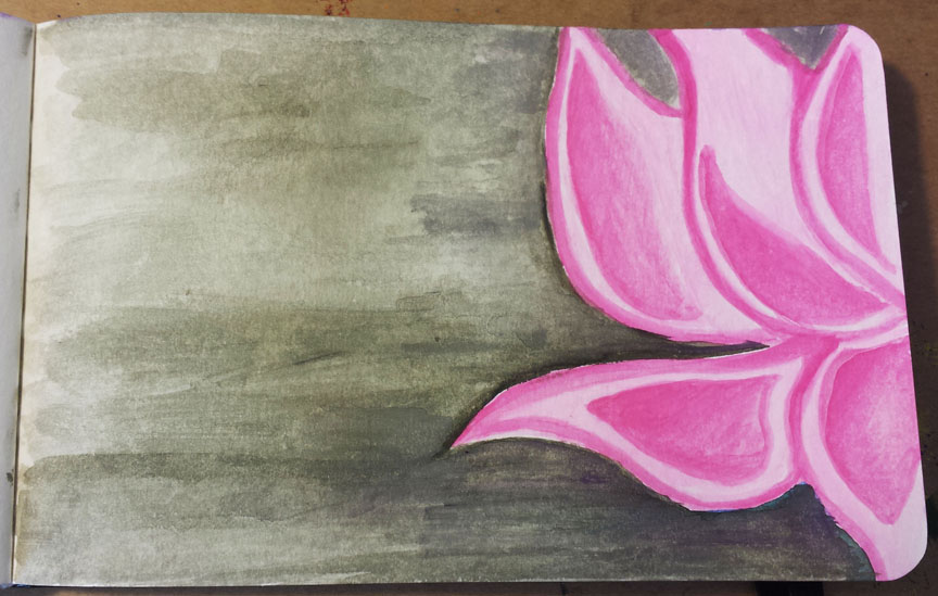 watercolor-Lotus-flower